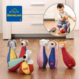 メール便不可ボーネルンド アニマルボーリング SG49520-MG キッズ ベビー おもちゃ 玩具 知育玩具 ボウリング 出産祝い  BorneLund 7008543|marumiya-world