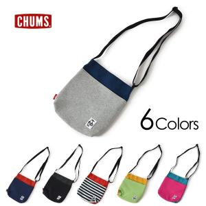 メール便可 チャムス CH60-2671-MF Vertical Mini Shoulder Sweat Nylon レディース メンズ キッズ バッグ バーチカルミニショルダー CHUMS 7008942|marumiya-world
