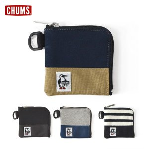 メール便可チャムス CH60-2689-MF Square Coin Case Sweat Nylo...