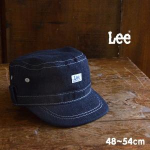 メール便不可 リー 9185353-MG デニムワークキャップ キッズ ベビー 帽子 ぼうし ファッション小物 日よけ サイズ調節 アウトドア シンプル 子供服 Lee 7008985|marumiya-world