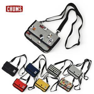 メール便不可 チャムス CH60-2702-MG Mini Pouch Sweat キッズ レディース メンズ ミニ ポーチ スウェット 小物入れ  CHUMS 7009043 marumiya-world