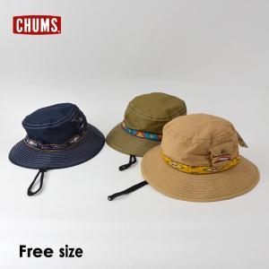 メール便可 チャムス CH25-1029-mFm フェスハット キッズ 帽子 ぼうし ボウシ 子供用ハット キッズハット あご紐付き メッシュ アウトドア CHUMS 7009536|marumiya-world
