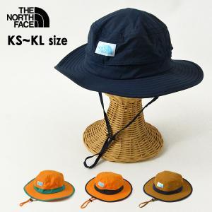 メール便不可 ノースフェイス NNJ02006-MG Kids Camp Side Hat/キッズキャンプサイドハット キッズ 帽子 ぼうし ボウシ THE NORTH FACE 7009621|marumiya-world