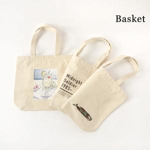 メール便可バスケット BS123-mFm デザインプリントトートバック キッズ レディース メンズ バッグ トート キャンバス プリント Basket 7009905 marumiya-world