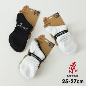メール便不可 グラミチ SX-M03-MG BASIC SHORT SOCKS/ベーシックショートソックス(3組セット) メンズ 靴下 くつした GRAMICCI 7009913 marumiya-world