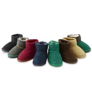 アンパサンド ボアショートブーツ L448017_L448027-Y2[13.0-21.0cm] キッズ ベビー ショートボア 靴 カラー シンプル 男の子 女の子 流行 ampersand 8001641|marumiya-world|05