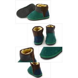 アンパサンド ボアショートブーツ L448017_L448027-Y2[13.0-21.0cm] キッズ ベビー ショートボア 靴 カラー シンプル 男の子 女の子 流行 ampersand 8001641|marumiya-world|07