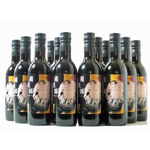酒 ワイン 相撲 大相撲 国技館 国技館名物 国技館ワイン360ml 12本セット(赤12本) 国技館ワインセットC marumori-sakeshop