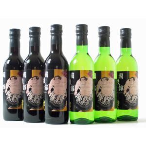 酒 ワイン 相撲 大相撲 国技館 国技館名物 国技館ワイン360ml 6本セット(赤3本・白3本) 国技館ワインセットE marumori-sakeshop