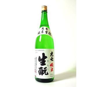 日本酒 酒 お酒 純米酒 大七 純米 生もと 1800ml marumori-sakeshop 02