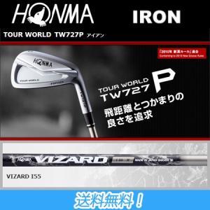 ホンマ HONMA GOLF TOUR WORLD TW727 P アイアン #5-#10 (6本セ...