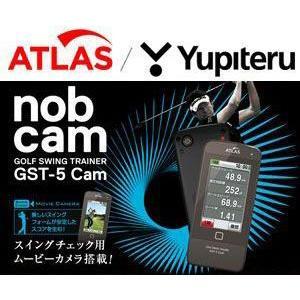 ユピテル ATLAS アトラス Nob Cam ゴルフスイングトレーナー GST-5 Cam