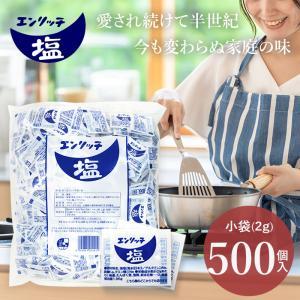 エンリッチ塩小袋 1000g(2g×500)|marunienrich