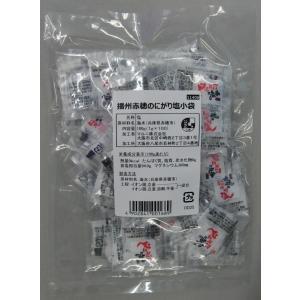 播州赤穂のにがり塩小袋 100g(1g×100)|marunienrich