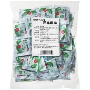 和風専科だし塩 昆布風味 小袋 100g(1g×100)|marunienrich