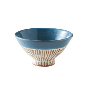 日本製 国産 RIKIZO ライスボウル お茶碗 003 手作り おしゃれ ギフト ご飯茶碗 和食器 和柄 陶器 うつわ|maruri-tamaki