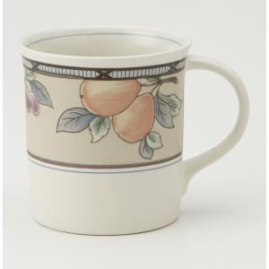 MIKASA ミカサ Garden Harvest ガーデンハーベスト マグカップ アメリカン コーヒー おしゃれ かわいい 花柄 食器 洋風 陶器 ギフト プレゼント|maruri-tamaki