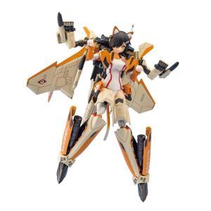 青島文化教材社 VFG マクロスデルタ VF-31D スクルド 全高約155mm  色分け済みプラモデル組立キット  MC-05|marusan-hobby