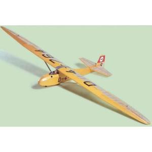 1/6スケールグライダー ドイツ グルナウベビー2B 〔組立キット〕|marusan-hobby