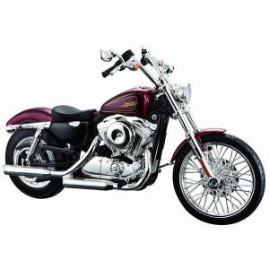 マイスト 1/12 完成品バイク ハーレー ダビッドソン 2012 XL 1200V セブンティーツー レッド|marusan-hobby