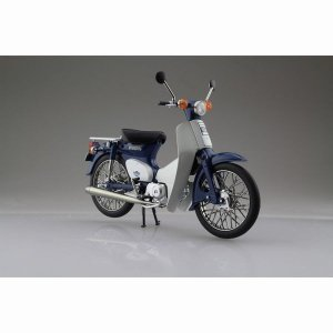 予約受付中!Honda スーパーカブ50 ブルー 1/12 完成品バイク   #完成品  スカイネット|marusan-hobby
