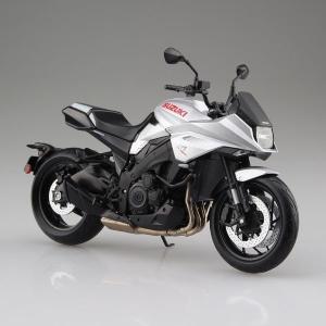アオシマ スカイネット 1/12 SUZUKI GSX-S1000S KATANA メタリックミステ...