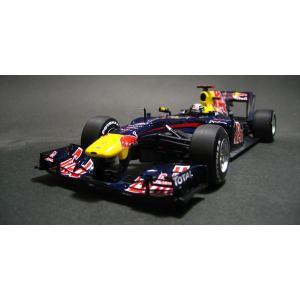 ミニチャンプス1/18 レッドブル レーシング ルノー RB6 S.ベッテル ブラジルGPウイナー 2010|marusan-hobby