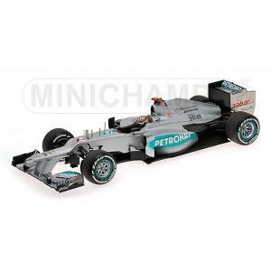 ミニチャンプス1/18 メルセデス AMG ペトロナス F1 チーム W03 M.シューマッハ  ベ...
