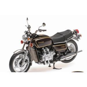 ミニチャンプス1/12ホンダ ゴールドウイング GL 1000 K3  1978  ブラウンメタリック 【ミニカー】122161610|marusan-hobby