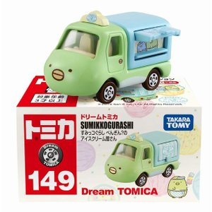 トミカ ドリームトミカ No.149 すみっコぐらし ぺんぎん?のアイスクリーム屋さん|marusan-hobby