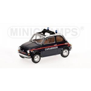 ミニチャンプス1/18フィアット 500 1965 パトロールカー(イタリア) marusan-hobby
