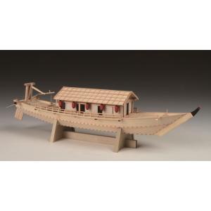 ■メーカー名:ウッディージョーWoodyJOE(日本) 1/24 屋形船(やかたぶね   全長: 6...