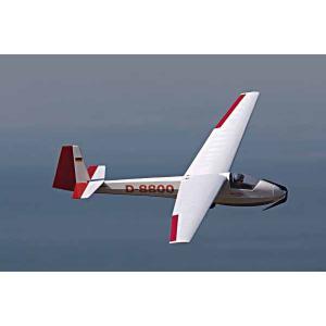 Ka-8 カーエイト ベーシック 1.85m スケールグライダー  Vpro(OK)17077 RC電動グライダー完成キット|marusan-hobby