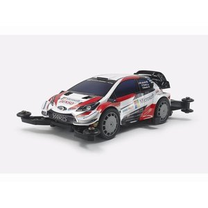 予約受付中!トヨタ ガズー レーシング WRT/ヤリス WRC (MAシャーシ)  タミヤ ミニ4駆組立キット  18654|marusan-hobby