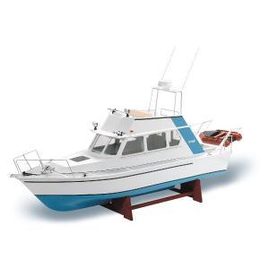 リサ・M 電動RC 1/25 スケールボート モーター付船体ABSと木部レーザーカット組立KIT