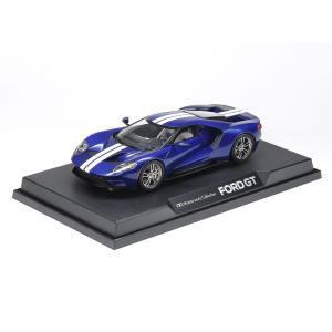 タミヤ 1/24 フォード GT (ブルー)  完成品  21166