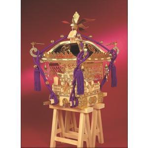 江戸神輿【ウッディージョー:1/5 木製建築組立キット】|marusan-hobby