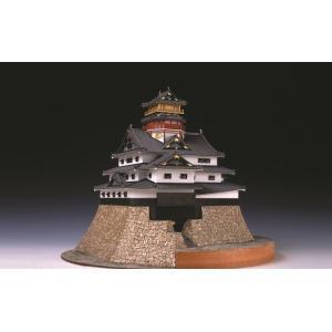安土城 【ウッディージョー:1/150 レーザー加工木製建築組立キット】|marusan-hobby