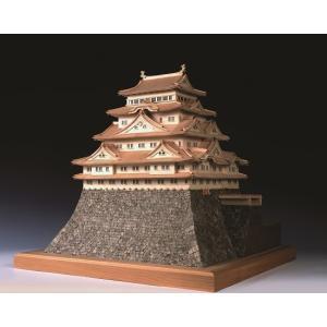 名古屋城 【ウッディージョー:1/150 レザーカット加工 木製建築組立キット】|marusan-hobby