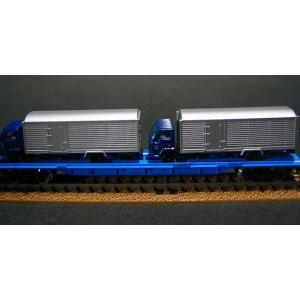■トミックス(tomix)■私有貨車クム80000形(4tトラック2台付)【鉄道模型Nゲージ】2770|marusan-hobby