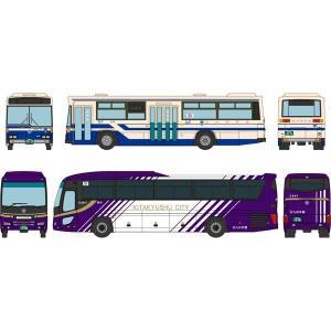 予約受付中!トミーテック ザ・バスコレクション 北九州市交通局市営バス90周年2台セット  12月
