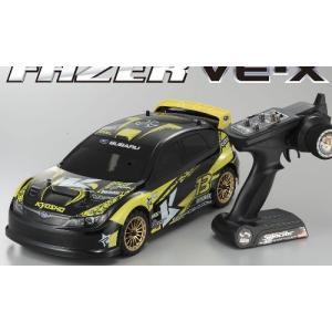 セール!PuT FAZER VE-X 2006 スバル インプレッサ KX2  京商 1/10電動ラジコンカーセット 30914T1J|marusan-hobby