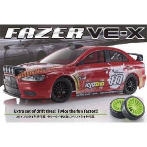 Put FAZER VE-X ランサー エボ KX4 1/10電動ブラシレスレディセット 京商 30919T2|marusan-hobby