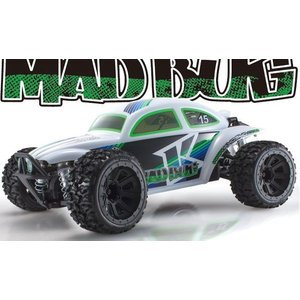マッドバグ VE ホワイト  レディセット 京商 30994T1  1/10 電動カー4WD|marusan-hobby