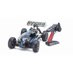 予約受付中!インファーノ NEO 3.0 カラータイプ1 ブルー KT-231P+付き 1/8 GP 4WD レディセット 33012T1|marusan-hobby