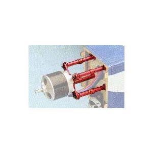 アルミポストモーターマウント3053-45コンバート  (OK模型:33357 ブラシレス用モーターマウント)  marusan-hobby