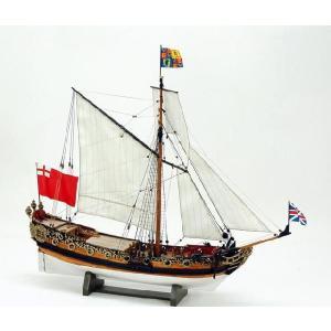 ウッディージョー: 1/64 『チャールズヨット』 【木製帆船組立キット】|marusan-hobby