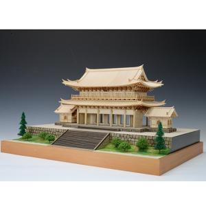 1/150 知恩院 三門 【ウッディージョー: 木製建築組立キット】|marusan-hobby