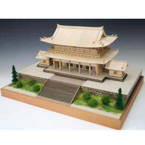 1/150 知恩院 三門 【ウッディージョー: 木製建築組立キット】|marusan-hobby|02