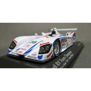 ミニチャンプス1/43 アウディ R8 Team Champion ALM Petit Le Mans 2001|marusan-hobby